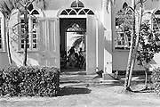 Blanchisseuse på Trinidad i Västindien
