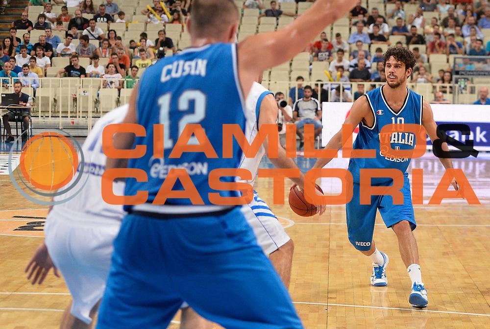 DESCRIZIONE : Atene Akropolis Cup Italia Grecia Italy Greece<br /> GIOCATORE : Luca Vitali<br /> CATEGORIA : palleggio<br /> SQUADRA : Nazionale Italia Maschile Uomini<br /> EVENTO : Atene Akropolis Cup<br /> GARA : Italia Grecia Italy Greece<br /> DATA : 29/08/2013<br /> SPORT : Pallacanestro<br /> AUTORE : Agenzia Ciamillo-Castoria/R.Morgano<br /> Galleria : FIP Nazionali 2013<br /> Fotonotizia : Atene Akropolis Cup Italia Grecia Italy Greece<br /> Predefinita :