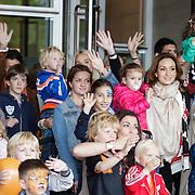 NLD/Amsterdam/20120604 - Vertrek Nederlands Elftal voor EK 2012,