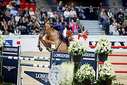 Robert Olivier, FRA, Quenelle du Py<br /> Gothenburg Horse Show FEI World Cups 2017<br /> © Hippo Foto - Stefan Lafrentz<br /> 26/02/17