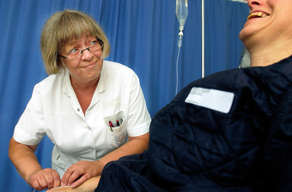 Inger Borbjerg Andersen, Sygeplejerske.