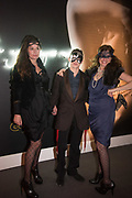 PAULA RAE GIBSON; DAWKA PELLING; BELINDA BAMBER;  Sotheby's Erotic sale cocktail party, Sothebys. London. 14 February 2018
