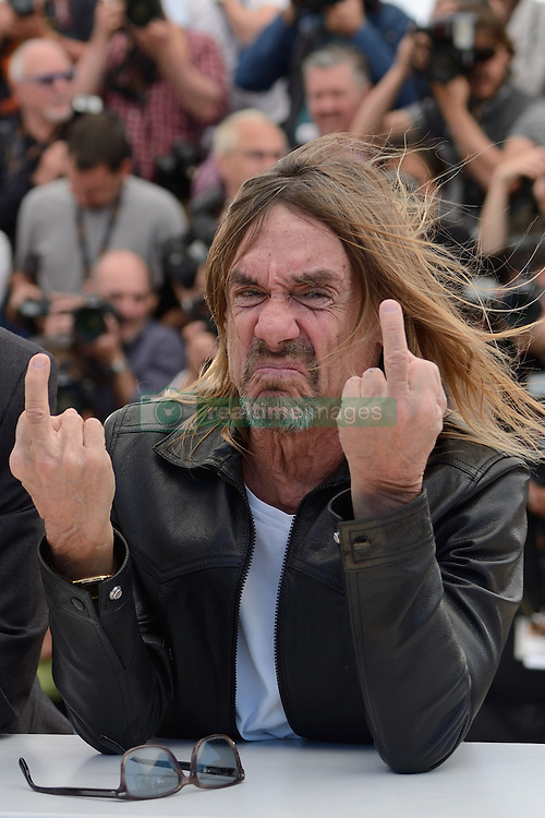 Iggy Pop attending the 'Gimme Danger' Photocall at the Palais Des Festivals in Cannes, France on May 19, 2016, as part of the 69th Cannes Film Festival. Photo by Aurore Marechal/ABACAPRESS.COM