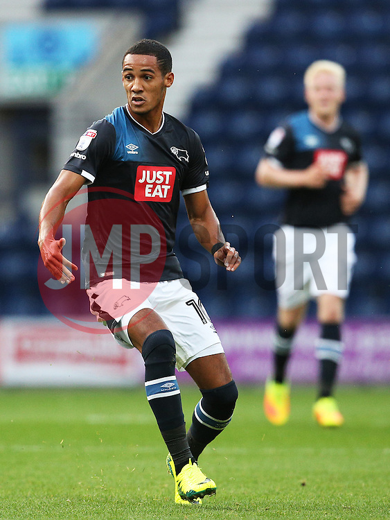 Tom Ince of Derby County  - Mandatory by-line: Matt McNulty/JMP - 16/08/2016 - FOOTBALL - Deepdale - Preston, England - Preston North End v Derby County - Sky Bet Championship
