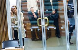 """08.03.2016, Parlament, Wien, AUT, Parlament, Nationalratssitzung, Sondersitzung des Nationalrates mit einer Dringlichen Anfrage der NEOS zum Thema """"Reformpanne – Pensionssystem ungebremst auf Crashkurs!"""", im Bild Nationalratsabgeordnete ÖVP Maria Fekter // Member of Parliament OeVP Maria Fekter during meeting of the National Council of austria at austrian parliament in Vienna, Austria on 2016/03/08, EXPA Pictures © 2016, PhotoCredit: EXPA/ Michael Gruber"""