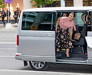 Stockholm, 30-05-2017 <br /> <br /> Crown Prince Frederik and Crown Princess Mary of Denmark visit Crown Princess Victoria and Prince Daniel on the occasion of Liveable Scandinavia.<br /> <br />  <br /> Visit at Illums Bolighus<br /> <br /> COPYRIGHT: ROYALPORTRAITS EUROPE/ BERNARD RUEBSAMEN