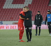 Fotball , 8. november 2019 , Eliteserien , Brann - Odd 1-0<br /> <br /> trener Lars Arne NIlsen , Brann