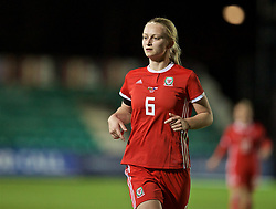 NEWPORT, WALES - Thursday, April 4, 2019: Wales' Elise Hughes during an International Friendly match between Wales and Czech Republic at Rodney Parade. (Pic by David Rawcliffe/Propaganda)