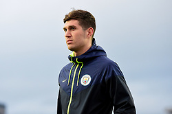 John Stones of Manchester City arrives at Rodney Parade prior to kick off - Mandatory by-line: Ryan Hiscott/JMP - 16/02/2019 - FOOTBALL - Rodney Parade - Newport, Wales - Newport County v Manchester City - Emirates FA Cup fifth round proper