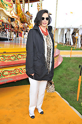 BIANCA JAGGER at the 2012 Veuve Clicquot Gold Cup Final at Cowdray Park, Midhurst, West Sussex on 15th July 2012.