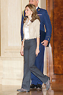 013111 princess letizia audiences madrid