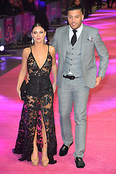 © Licensed to London News Pictures. 09/02/2016. London, UK. CALLY JANE BEECH and LUIS MORRISON attend the UK film premiere of 'How To Be Single'.  The film is about a woman writing a book about bacherlorettes who becomes embroiled in an international affair while researching abroad<br /> Photo credit: Ray Tang/LNP