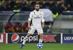 November 27, 2018 - Rome, Italy - AS Roma v FC Real Madrid : UEFA Champions League Group G.Dani Carvajal of Real Madrid at Olimpico Stadium in Rome, Italy on November 27, 2018. (Credit Image: © Matteo Ciambelli/NurPhoto via ZUMA Press)