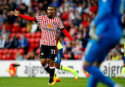 Lewis Grabban of Sunderland - Mandatory by-line: Matt McNulty/JMP - 04/08/2017 - FOOTBALL - Stadium of Light - Sunderland, England - Sunderland v Derby County - Sky Bet Championship