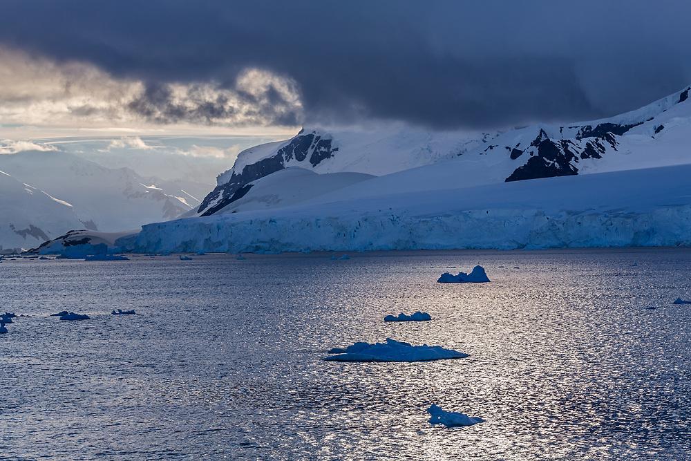Icebergs, Neumayer Channel, Antarctic Peninsula, Antarctica  2014