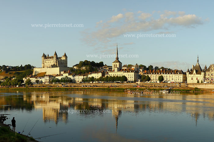 Located in the French town of Saumur, in the Maine-et-Loire département (Loire Valley), the Chateau de Saumur was originally constructed  as a fortified stronghold against Norman predations. It overlooks the confluence of the Loire and the Thouet.