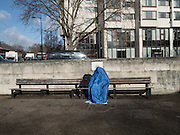 HOMELESS MAN, Hyde Park corner, London, 18 February 2016