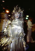 Silver Gold, Halloween, New York City, New York, October 1984