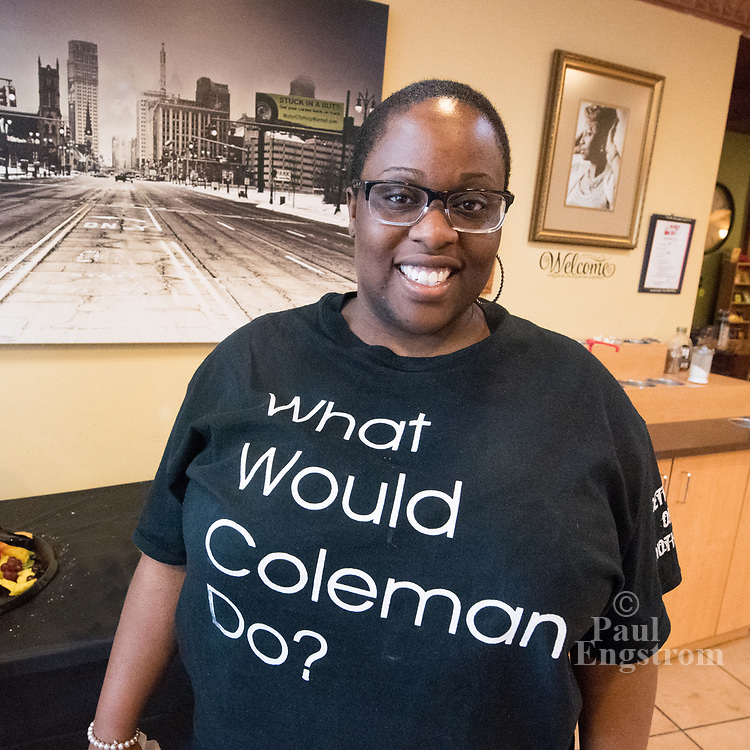 """Building the Engine of Community Development in Detroit founder Maggie DeSantis presents a forum to debate, """"Who decides the future of each Detroit neighborhood?"""""""