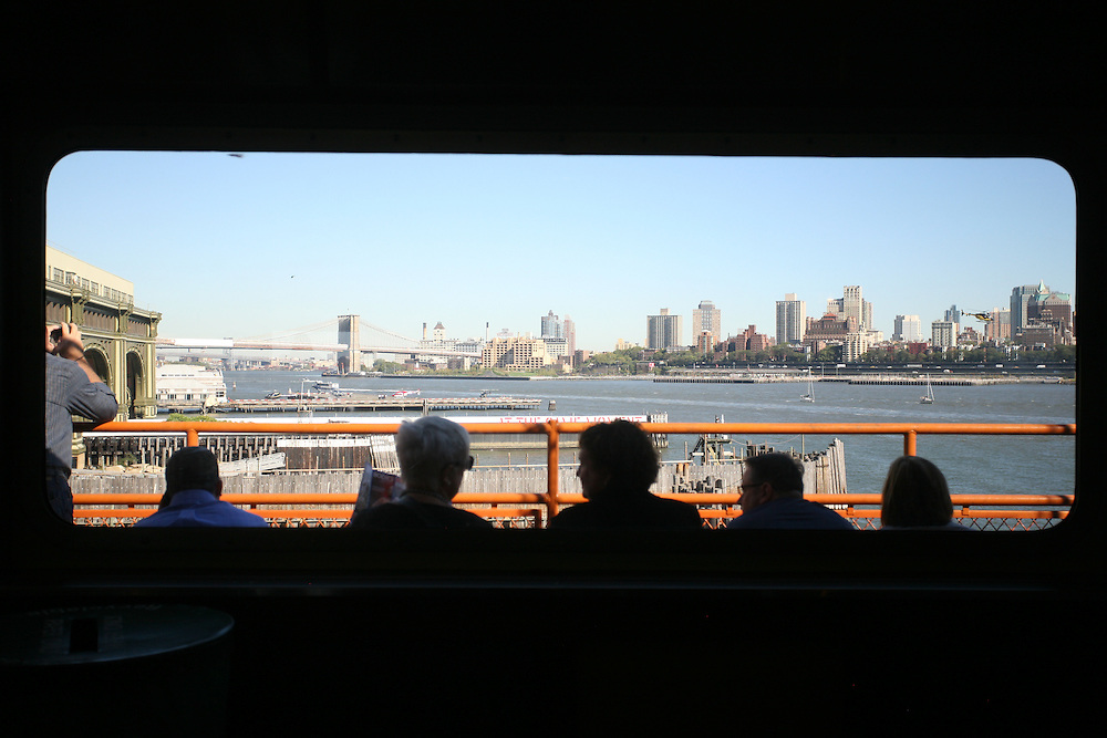 Staten Island Ferry facing Brooklyn. New York 2010