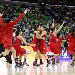 04-07-2013 NCAA Women's Final Four-Semi Finals-Louisville vs Cal