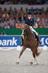Bechtolsheimer Laura (GBR) - Mistral Hojris <br /> European Championships Dressage - Rotterdam 2011<br /> © Dirk Caremans