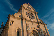 St Jacob's cathedral (Sv Jakov), a UNESCO World Heritage Site and the finest Renaissance building in Croatia, built between 1431 and 1535 by the architects Juraj Dalmatinac and Nikola Firentinac, Sibenik, Croatia