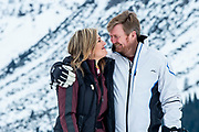Fotosessie met de koninklijke familie in Lech /// Photoshoot with the Dutch royal family in Lech .<br /> <br /> Koningin Maxima, Koning Willem Alexander  ///// Queen Maxima, King Willem Alexander