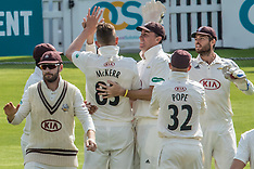 31 Aug 2018 - Surrey v Nottinghamshire. Specsavers County Championship - Day three