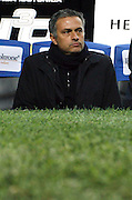 "Jose Mourinho.Milano 15/2/2009 Stadio ""Giuseppe Meazza"".Campionato Italiano Serie A.Inter Milan."