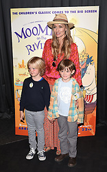 Natasha McElhone attends the UK Film Premiere of Moomins on the Riviera at BFI Southbank, Belvedere Road, London on Sunday 17 May 2015