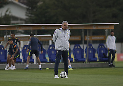 May 25, 2018 - Rio De Janeiro, Brazil - Brazil Team Manager Tite during training at comari farm in Teresopolis Rio de Janeiro May 25, 2018  (Credit Image: © Fabio Teixeira/NurPhoto via ZUMA Press)