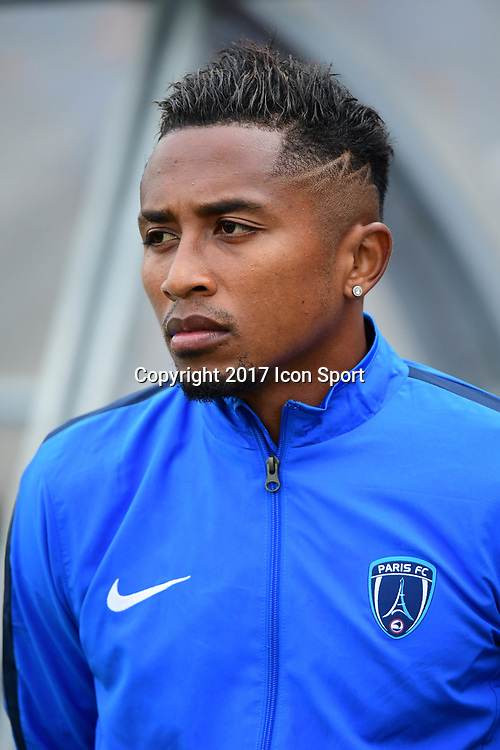 Lalaina Nomenjanahary of Paris FC during the first round of French League Cup match between Paris FC and Brest on August 8, 2017 in Paris, France. (Photo by Dave Winter/Icon Sport)