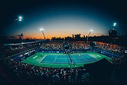 Centre court full of fans during ATP Challenger Zavarovalnica Sava Slovenia Open 2017, on August 12, 2017 in Sports centre, Portoroz/Portorose, Slovenia. Photo by Vid Ponikvar / Sportida