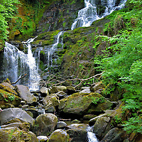 Torc Waterfall along the Ring of Kerry, Ireland<br />