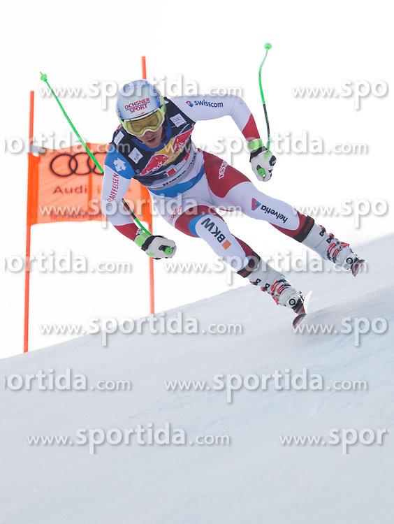 19.01.2016, Streif, Kitzbuehel, AUT, FIS Weltcup Ski Alpin, Kitzbuehel, 1. Abfahrtstraining, Herren, im Bild Carlo Janka (SUI) // Carlo Janka of Switzerland in action during 1st Training of the men's Downhill Race of Kitzbuehel FIS Ski Alpine World Cup at the Streif in Kitzbuehel, Austria on 2016/01/19. EXPA Pictures © 2016, PhotoCredit: EXPA/ Johann Groder