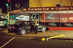 Auckland-Fight after car crashes into Papatoetoe bar