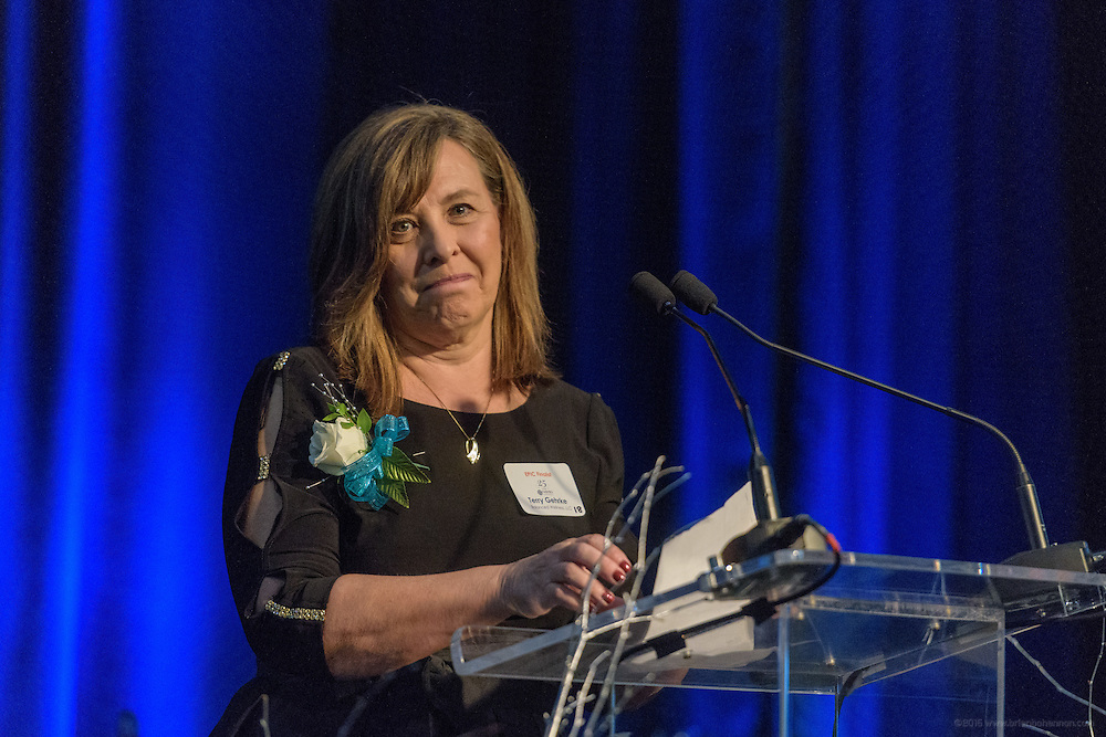 NAWBO Kentucky presents the 2017 EPIC Awards Thursday, March 2, 2017, at the Mellwood Arts & Entertainment Center in Louisville, Ky., as they celebrate their 23rd anniversary of honoring the Woman Business Owner of the Year with this prestigious award. (Photo by Brian Bohannon)