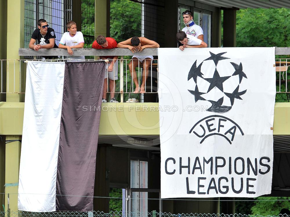 Arta Terme (UD), 10/07/2011.Campionato di calcio Serie A 2011/2012.Primo Allenamento per l'Udinese di Guidolin. .© foto di Simone Ferraro