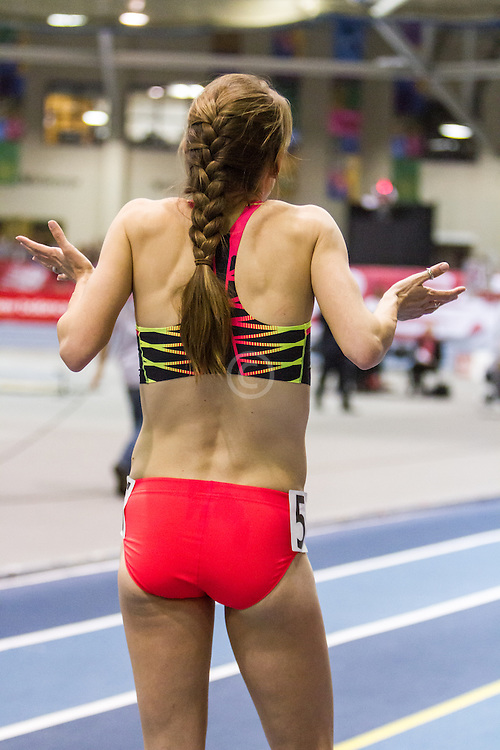New Balance Indoor Grand Prix Track & FIeld:  women's Two Mile Jenny Simpson