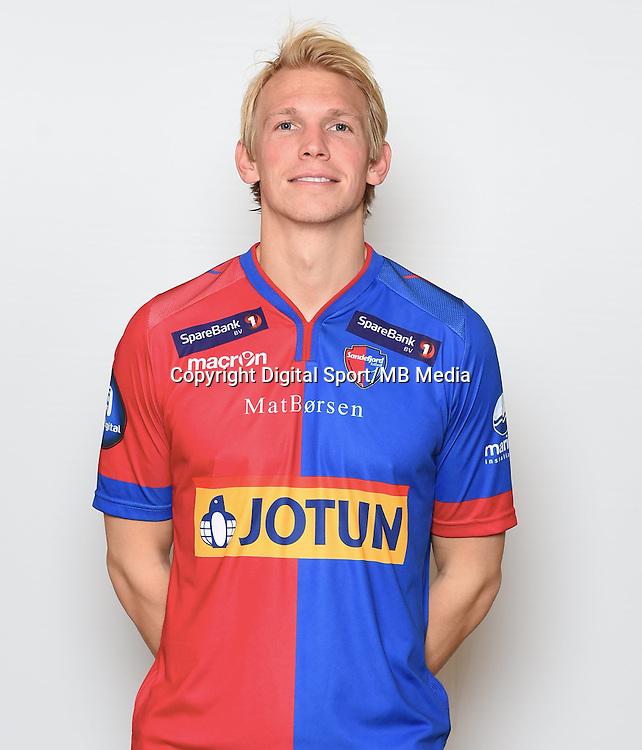 Fotball , Eliteserien , Tippeligaen  2015 , portrett , portretter<br /> Sandefjord<br /> Alexander Gabrielsen