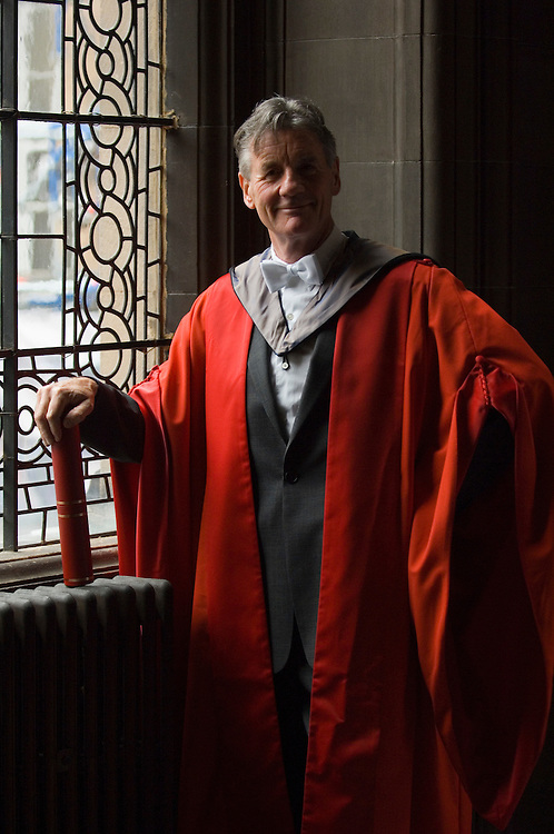 Edinburgh Mr Palin awarded the Honorary Degree of Doctor of Letters at McEwan Hall on Wednesday 27 June 2007.