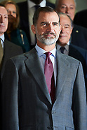 112417 Spanish Royals Attend a Meeting of the Plenary Session of the Royal Board