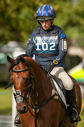 Zara Phillips and High Kingdom, during the cross country day at the Land Rover Burghley Horse Trials 2011, Stamford, England, September 3, 2011. Photo by Nico Morgan/i-Images.