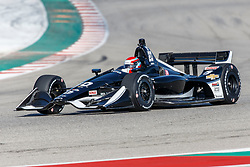 February 12, 2019 - U.S. - AUSTIN, TX - FEBRUARY 12: Ed Jones (20) in a Chevrolet powered Dallara IR-12 at turn 13 during the IndyCar Spring Training held February 11-13, 2019 at Circuit of the Americas in Austin, TX. (Photo by Allan Hamilton/Icon Sportswire) (Credit Image: © Allan Hamilton/Icon SMI via ZUMA Press)