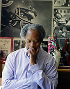 Pulitzer Prize winner and photojournalist John H. White in his Chicago home.