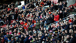 Bristol City fans-Mandatory by-line: Nizaam Jones/JMP - 18/01/2020 - FOOTBALL - Ashton Gate - Bristol, England - Bristol City v Barnsley - Sky Bet Championship