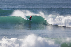 October 12, 2017 - Current World No.7 on the Jeep Leaderboard Filipe Toledo of Brazil finished equal 25th in the 2017 Quiksilver Pro France after placing second to Miguel Pupo of Brazil in Heat 4 of Round Two at Hossegor. (Credit Image: © WSL via ZUMA Press)