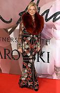 London - Fashion Awards 2016 - 05 Dec 2016