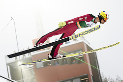 February 8, 2019 - Lahti, Finland - Maxime Laheurte competes during Nordic Combined, PCR/Qualification at Lahti Ski Games in Lahti, Finland on 8 February 2019. (Credit Image: © Antti Yrjonen/NurPhoto via ZUMA Press)
